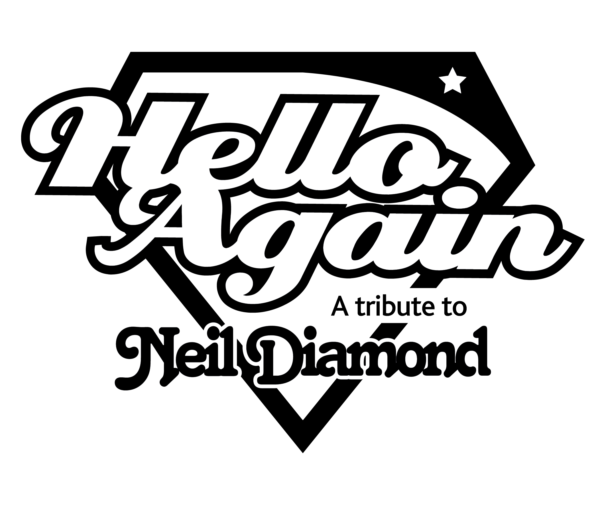 Hello Again Logo