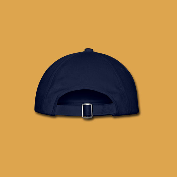 Blue Logo Cap Unisex Back