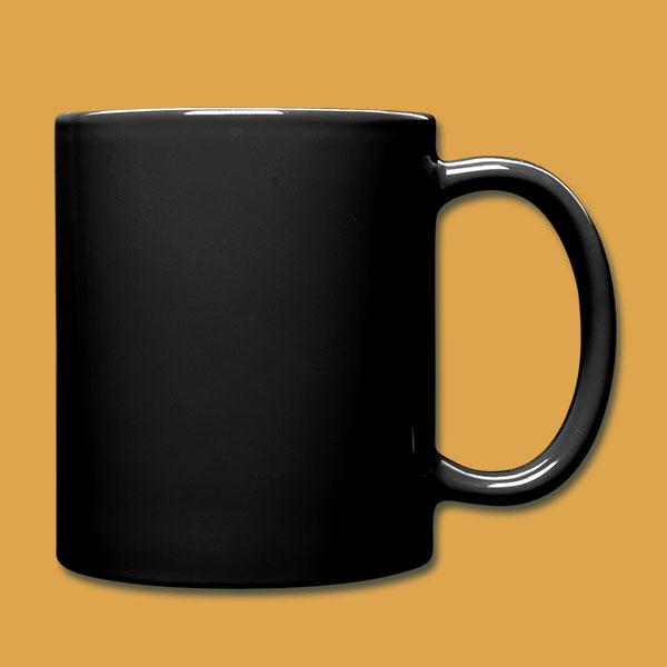 Mug 'Logo' Black Back