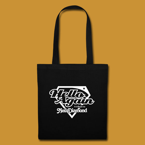 Tote Logo Black Front