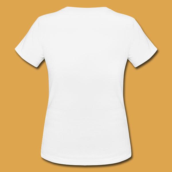 Womens White Logo T Back