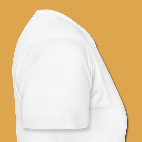 Womens White Logo T Right